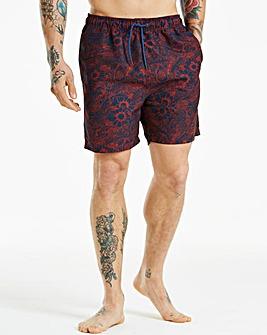 Ben Sherman Abaka Red/Navy Swim Shorts
