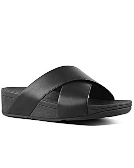 FitFlop Lulu Cross Slide Mules