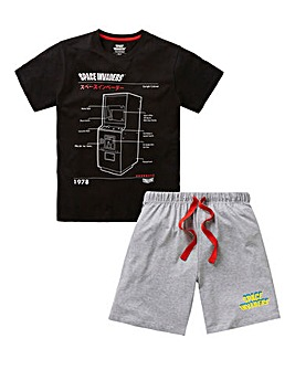 Space Invaders Short Pyjama Set