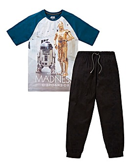 Star Wars Cuffed Bottom PJ Set