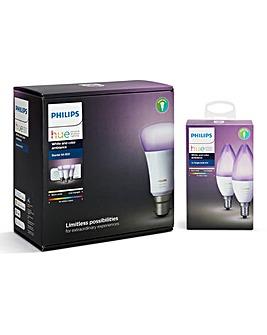 Philips Hue B22 Starter Kit