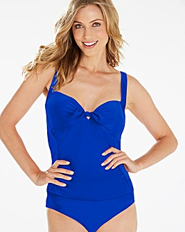 Beach to Beach Blue Tankini Top