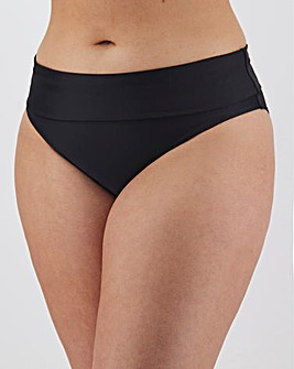 MAGISCULPT Fold Over Shaping Black Bikini Bottoms