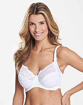 Sirens by PourMoi Eternal Lace White Bra