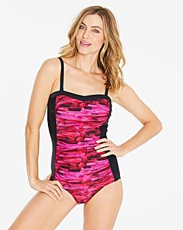 MAGISCULPT Pink Bandeau Swimsuit