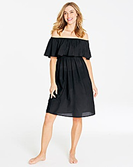 Bardot Black Beach Dress