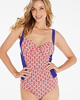 Beach to Beach Geo Tankini Top