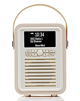 VQ Mini Radio & Bluetooth Speaker Cream