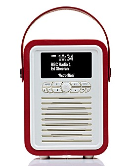 VQ Mini Radio & Bluetooth Speaker Red