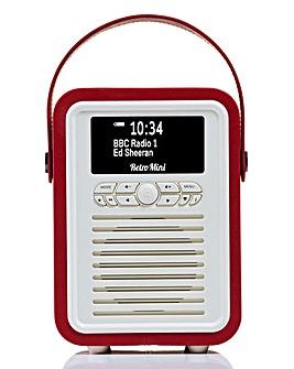 VQ Mini Radio & Bluetooth Speaker Red