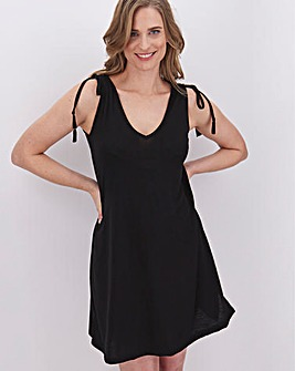 Black Beach Dress