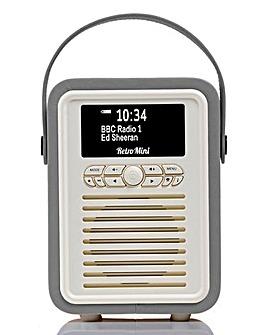 VQ Mini Radio & Bluetooth Speaker Grey