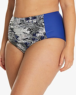Magisculpt Feather Print Bikini Bottoms