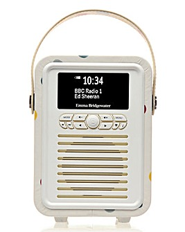 VQ Mini Radio & Speaker Polka Dot