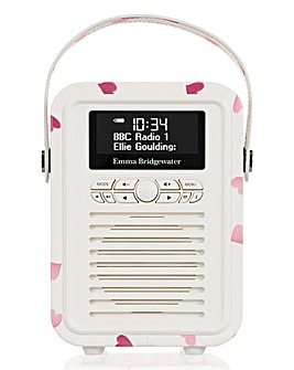 VQ Mini Radio & Speaker Pink Hearts