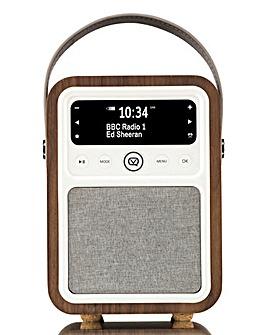 VQ Radio & Bluetooth Speaker Walnut