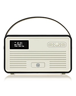 VQ Retro Radio with Bluetooth Black