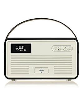 VQ Retro Radio with Bluetooth Black