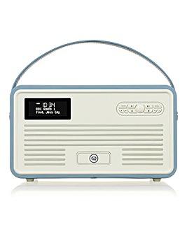 VQ Radio, Apple Dock + Bluetooth Blue