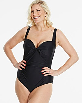 Beach to Beach Black Classic Swimsuit