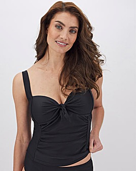 Black Tankini Top