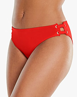 Simply Yours Lace Up Bikini Brief