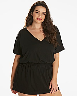 Beach To Beach Black Kaftan