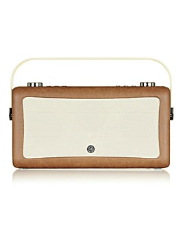 VQ Radio with Bluetooth Brown
