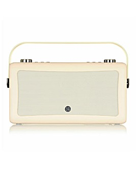VQ Hepburn Radio with Bluetooth Cream