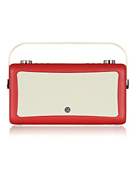 VQ Hepburn Radio with Bluetooth Red