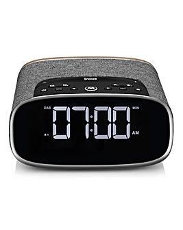VQ Lark Bedside Alarm Clock Black