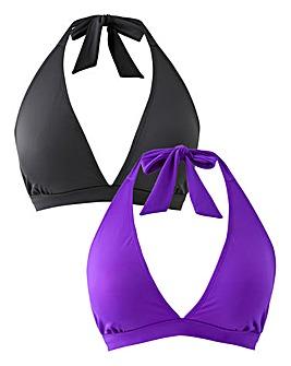 Basic 2 Pack Bikini Tops