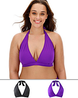Basic Two Pack Bikini Tops