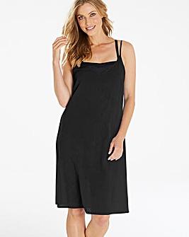 Black Cotton Beach Dress