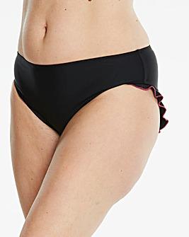 Black Ruffle Bikini Bottoms