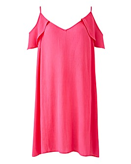 Cold Shoulder Beach Dress