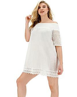 Bardot Beach Dress