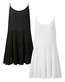 Basic 2 Pack Beach Dresses