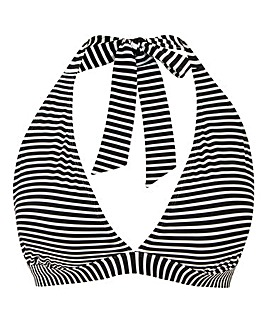 Dalmatian Print Basic Bikini Top
