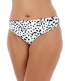 Dalmatian Print Basic Bikini Brief