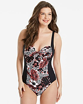 Beach to Beach Floral Classic Swimsuit
