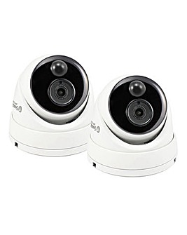 Swann Heat Sensing PIR Dome Twin Camera