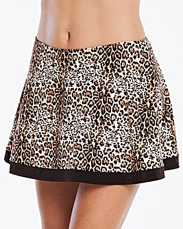 Beach to Beach Animal Bikini Skort