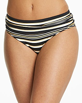 Magisculpt Black/Gold Bikini Brief