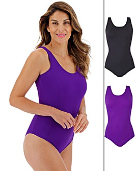 Basic Two Pack Swimsuits