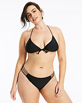 Strappy Back Bikini Set