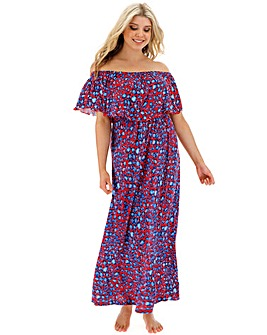 Bardot Maxi Beach Dress