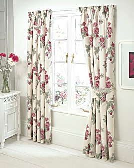 Florentine Lined Curtains & Tie Backs