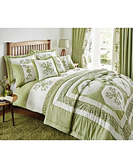 Willow Puffball Duvet Cover Set