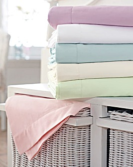 400 TC Sateen 10 inch Fitted Sheet